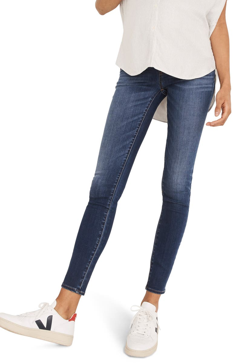 MADEWELL Maternity Skinny Jeans, Main, color, DANNY