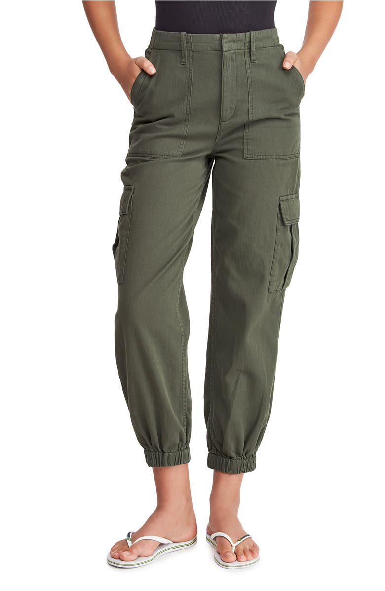 BDG URBAN OUTFITTERS Twill Cargo Trousers, Main, color, 200