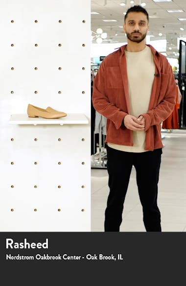 Noah Pointy Toe Loafer, sales video thumbnail
