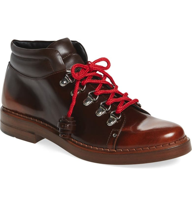 TOD'S 'Gomma' Lace-Up Hiking Boot, Main, color, 200