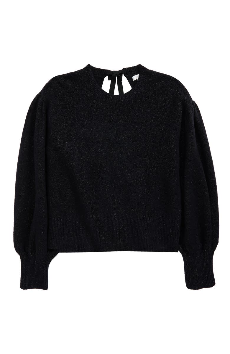 1901 Kids' Bow Back Sweater, Main, color, 001