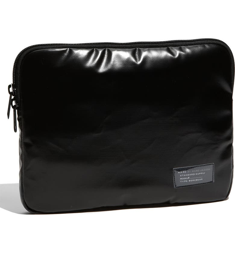 MARC BY MARC JACOBS 'Resistance' Laptop Sleeve, Main, color, 001