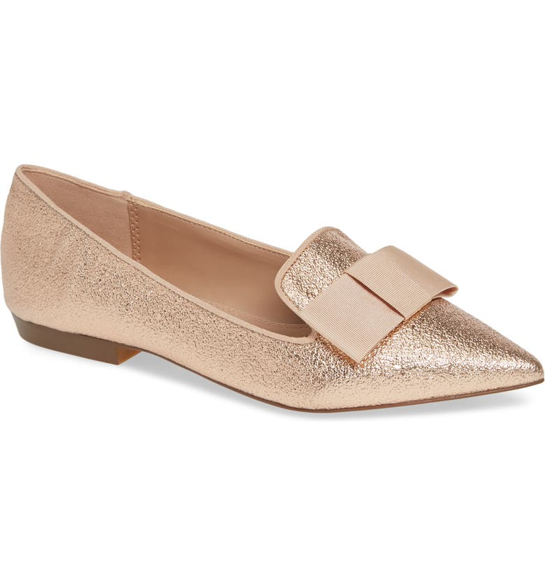 KENSIE Madeleine Pointy Toe Flat, Main, color, 710