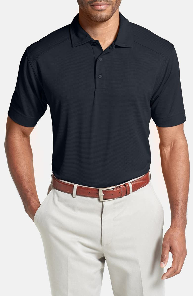 CUTTER & BUCK Genre DryTec Moisture Wicking Polo, Main, color, NAVY BLUE