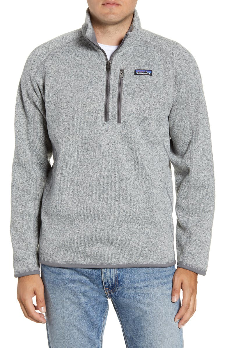 PATAGONIA Better Sweater<sup>®</sup> Quarter Zip Pullover, Main, color, STONEWASH