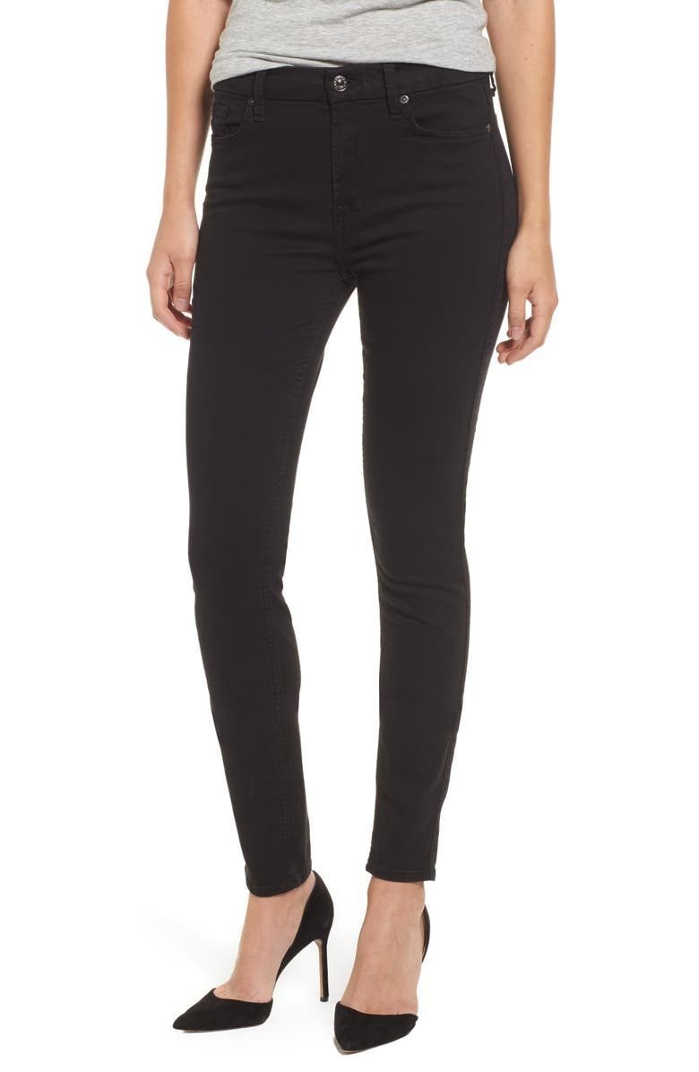 7 FOR ALL MANKIND<SUP>®</SUP> b(air) High Waist Skinny Jeans, Main, color, 004
