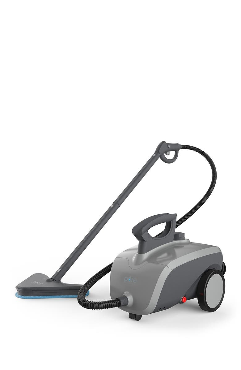 PURE ENRICHMENT PureClean XL Rolling Steam Cleaner, Main, color, GRAY