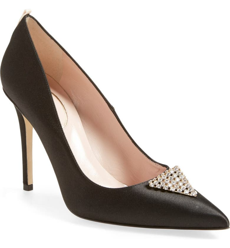 SJP BY SARAH JESSICA PARKER 'Wittman' Pointy Toe Pump, Main, color, 002