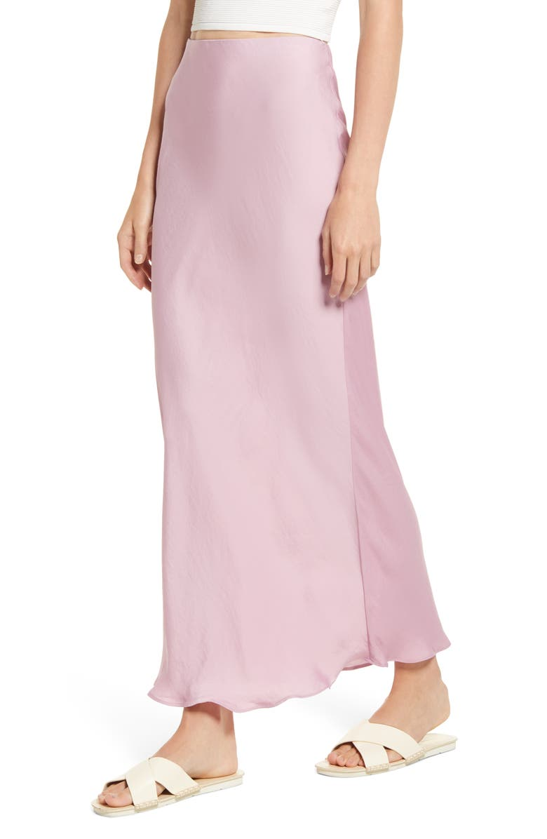 FREE PEOPLE Monterey Solid Slip Skirt, Main, color, 650