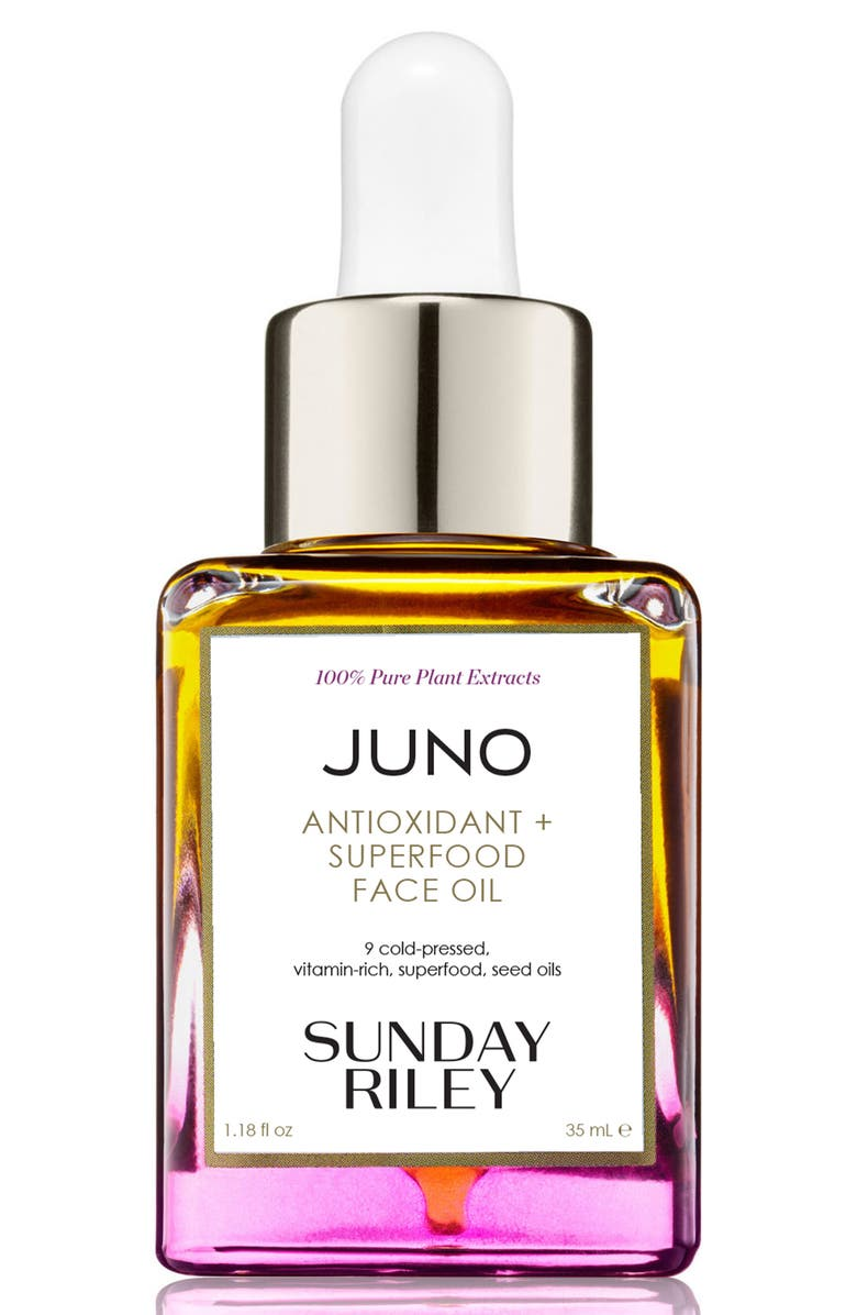 SUNDAY RILEY Juno Essential Face Oil, Main, color, NO COLOR