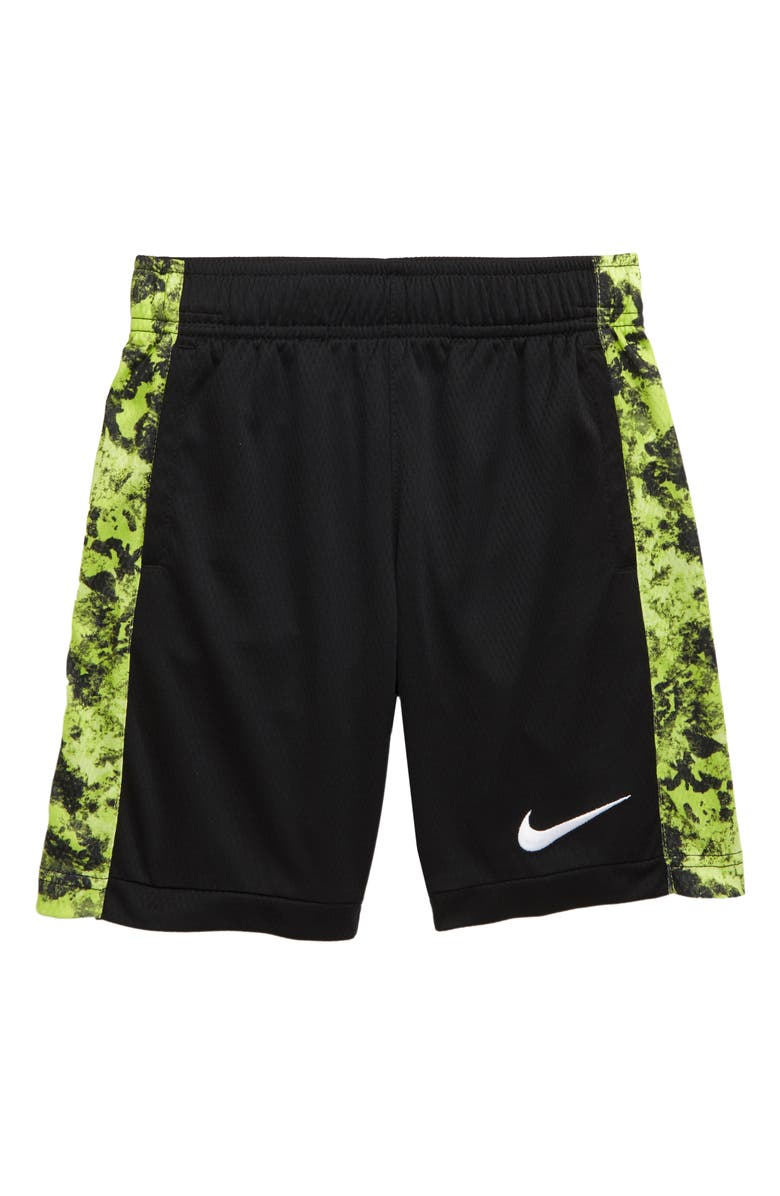 NIKE Dry Print Trophy Athletic Shorts, Main, color, 009