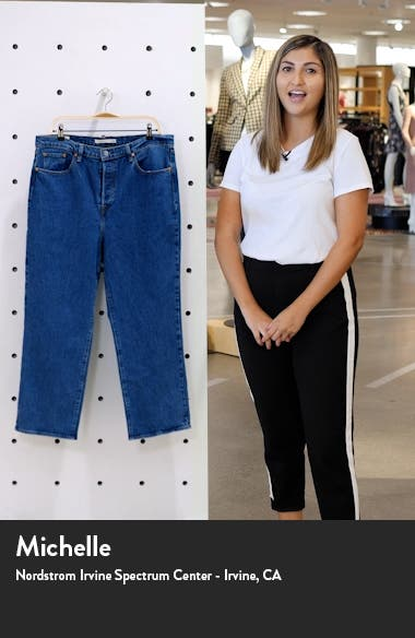 Ribcage Ankle Straight Leg Jeans, sales video thumbnail