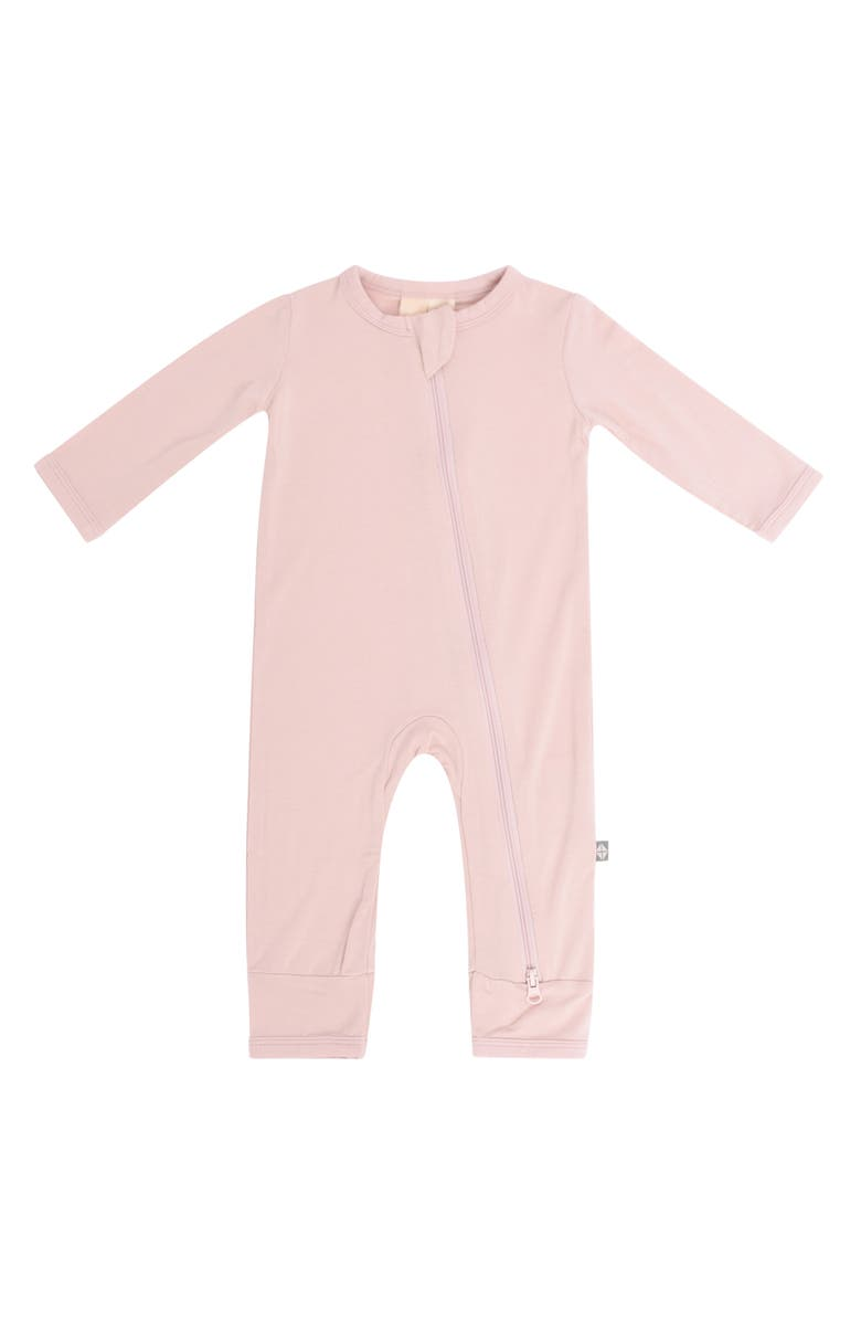 KYTE BABY Zip-Up Romper, Main, color, BLUSH