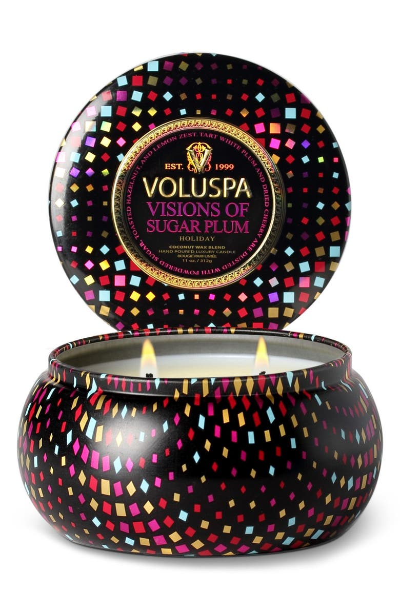 VOLUSPA 'Maison Holiday - Visions of Sugar Plum' Two-Wick Candle, Main, color, No Color