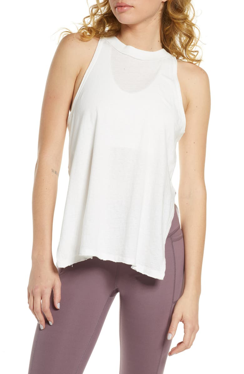 FREE PEOPLE FP MOVEMENT Fade with the Waves Tank Top, Main, color, 100