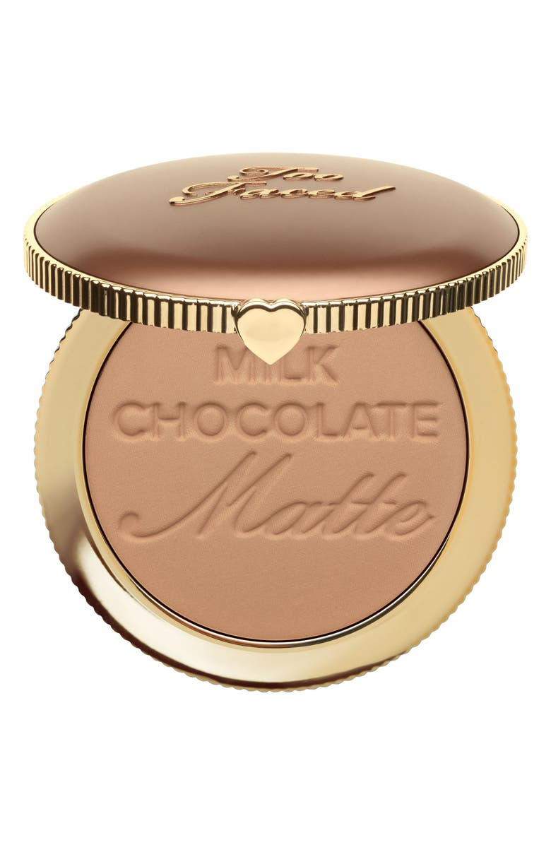 TOO FACED Chocolate Soleil Matte Bronzer, Main, color, MILK CHOCOLATE SOLEIL