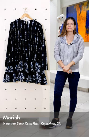 Soliman Tiered Long Sleeve Dress, sales video thumbnail