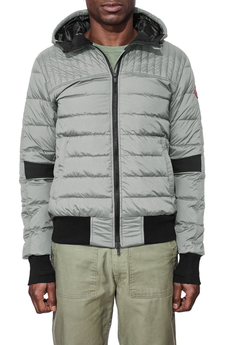 CANADA GOOSE Cabri Hooded Slim Fit Down Jacket, Main, color, 031
