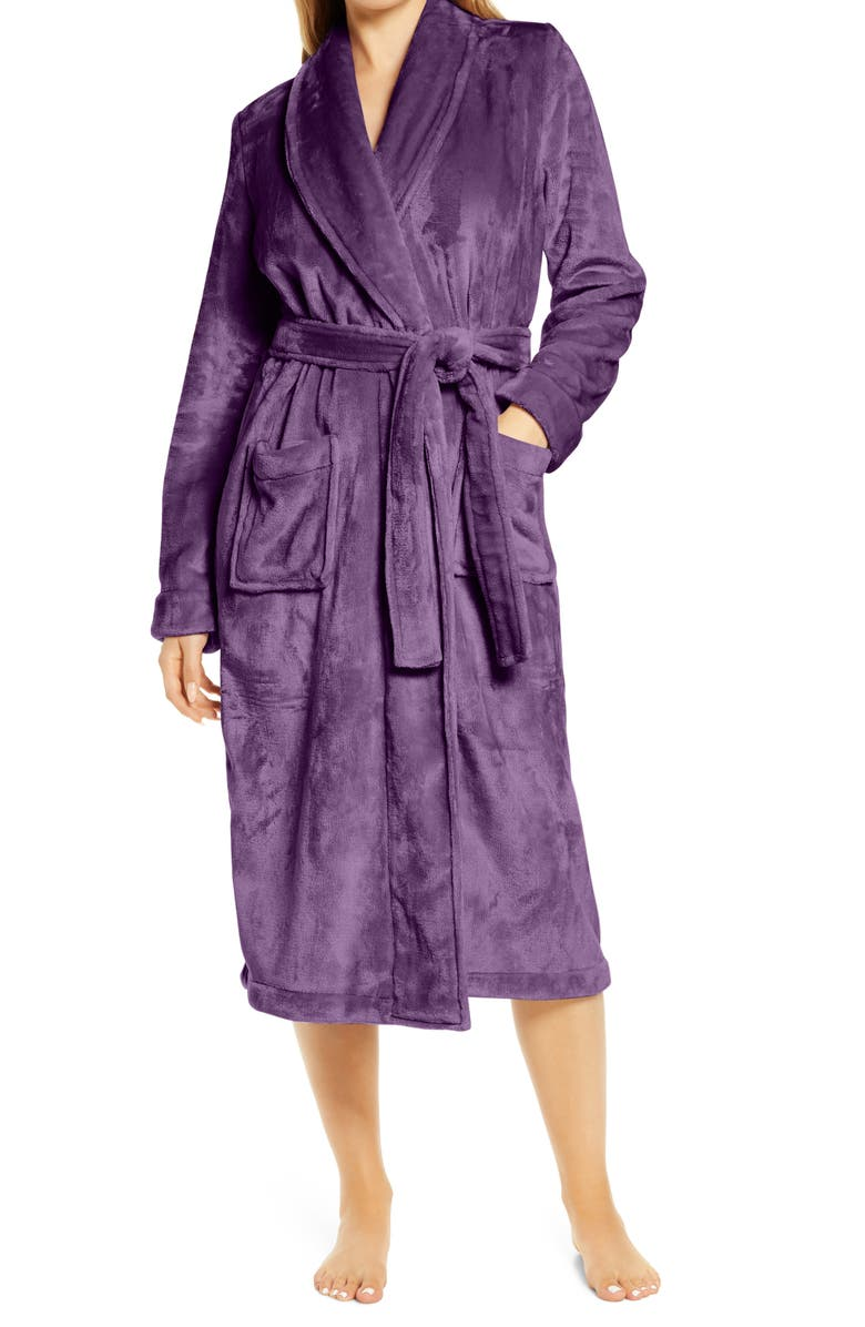 NORDSTROM Bliss Plush Robe, Main, color, NO_COLOR
