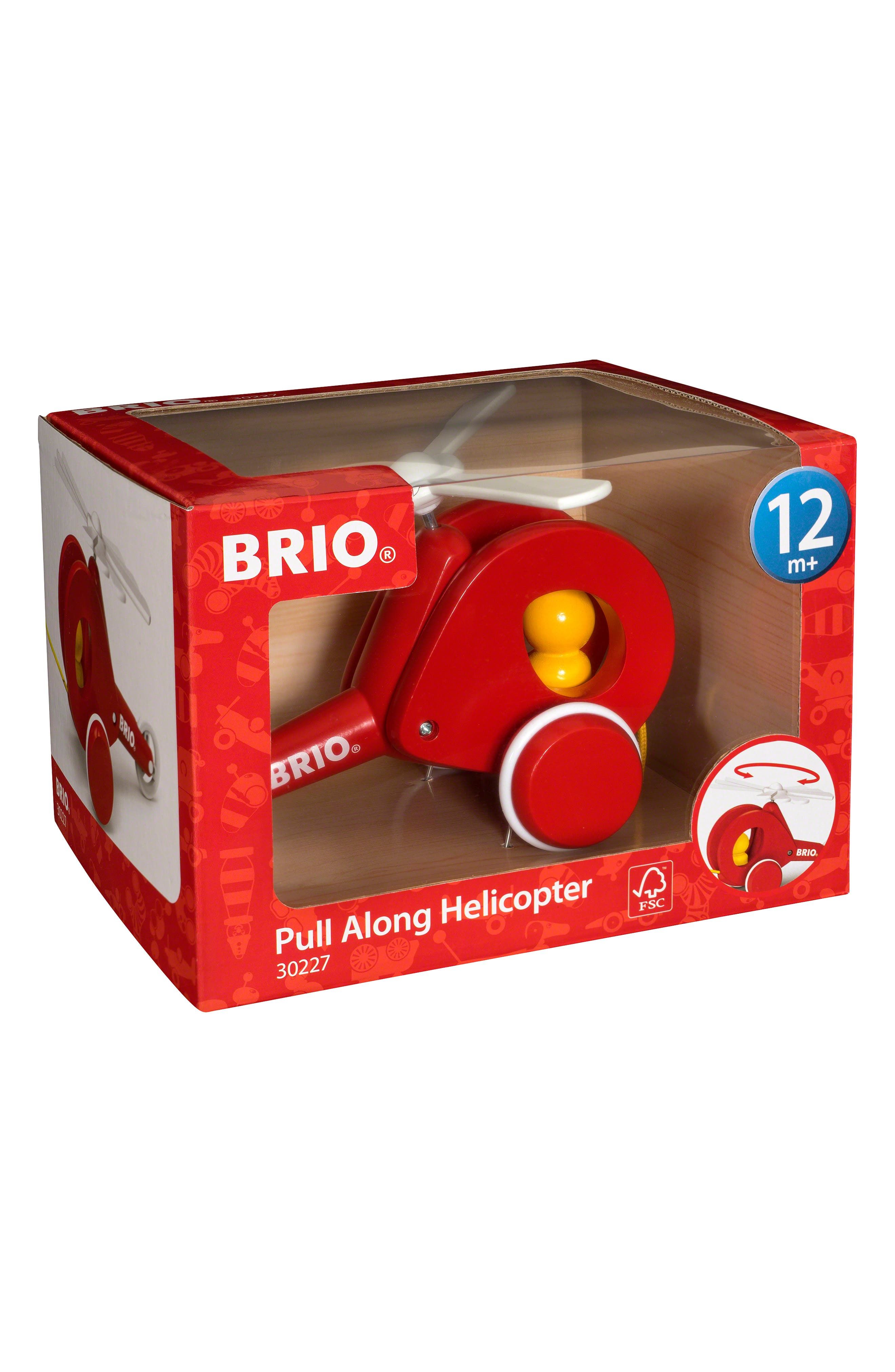 Pull along helicopter