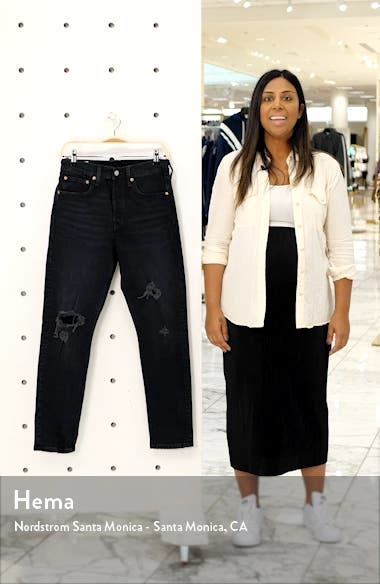 501<sup>®</sup> Ripped High Waist Ankle Skinny Jeans, sales video thumbnail