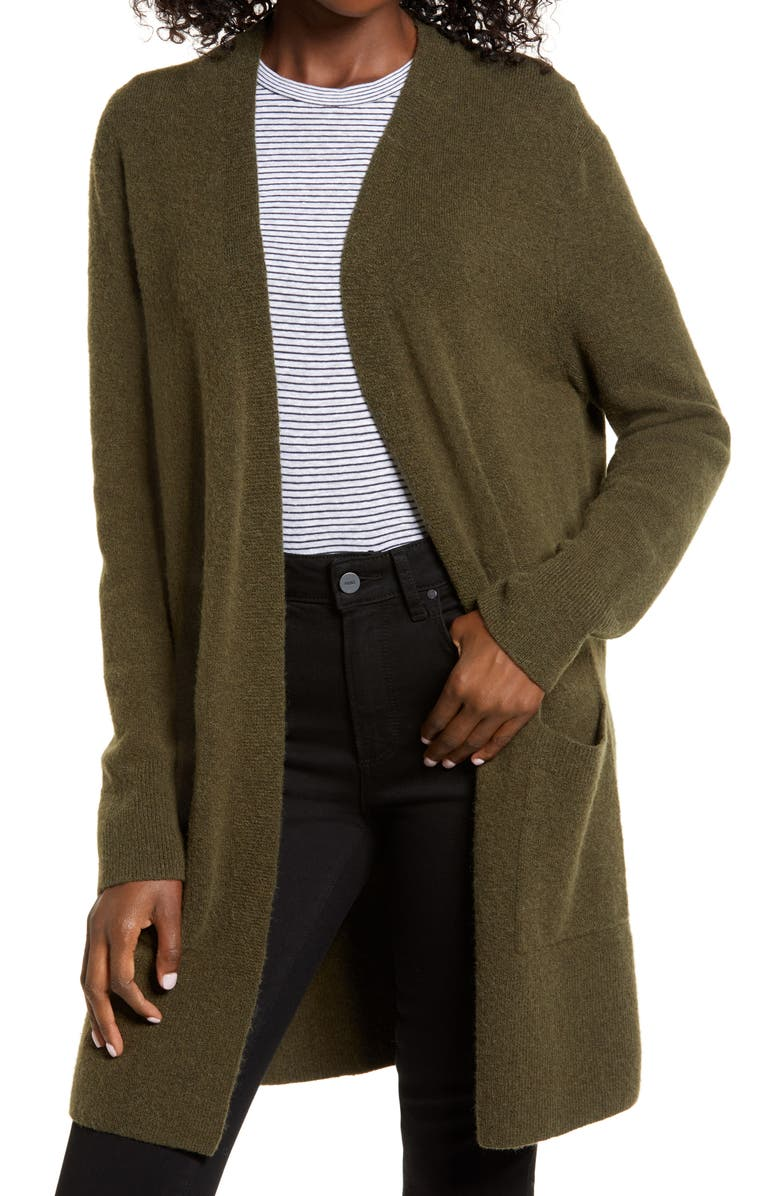 MADEWELL Kent Cardigan Sweater, Main, color, 300