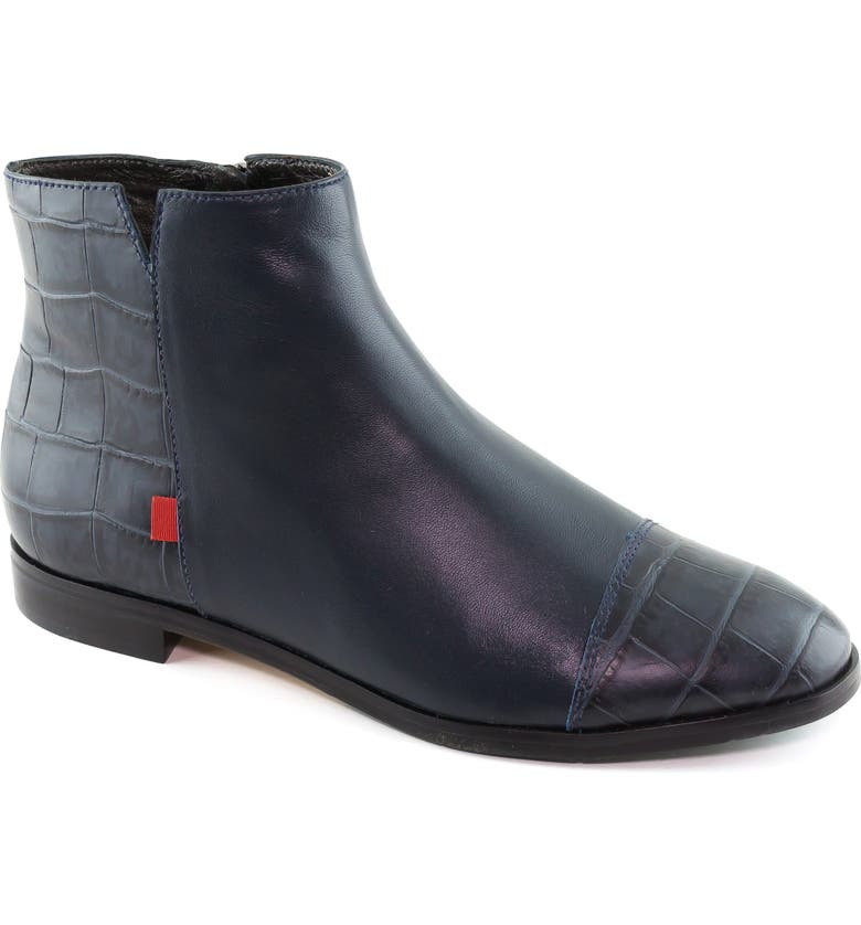 MARC JOSEPH NEW YORK Herald Square Bootie, Main, color, NAVY NAPPA LEATHER