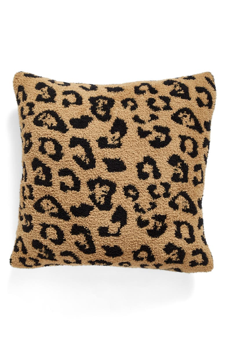 BAREFOOT DREAMS<SUP>®</SUP> CozyChic<sup>®</sup> In the Wild Accent Pillow, Main, color, 200