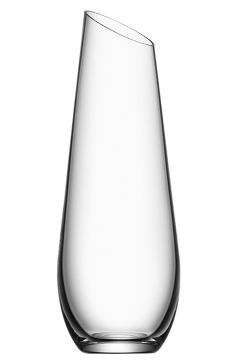 ORREFORS 'Enjoy' Carafe, Main, color, 100