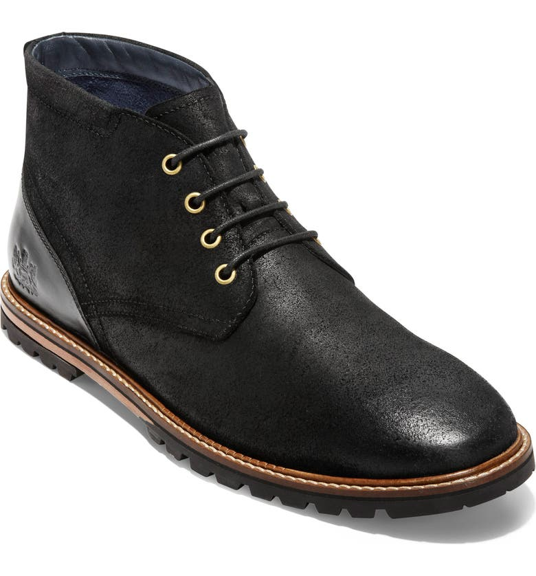 COLE HAAN Raymond Grand Water Resistant Chukka Boot, Main, color, 015