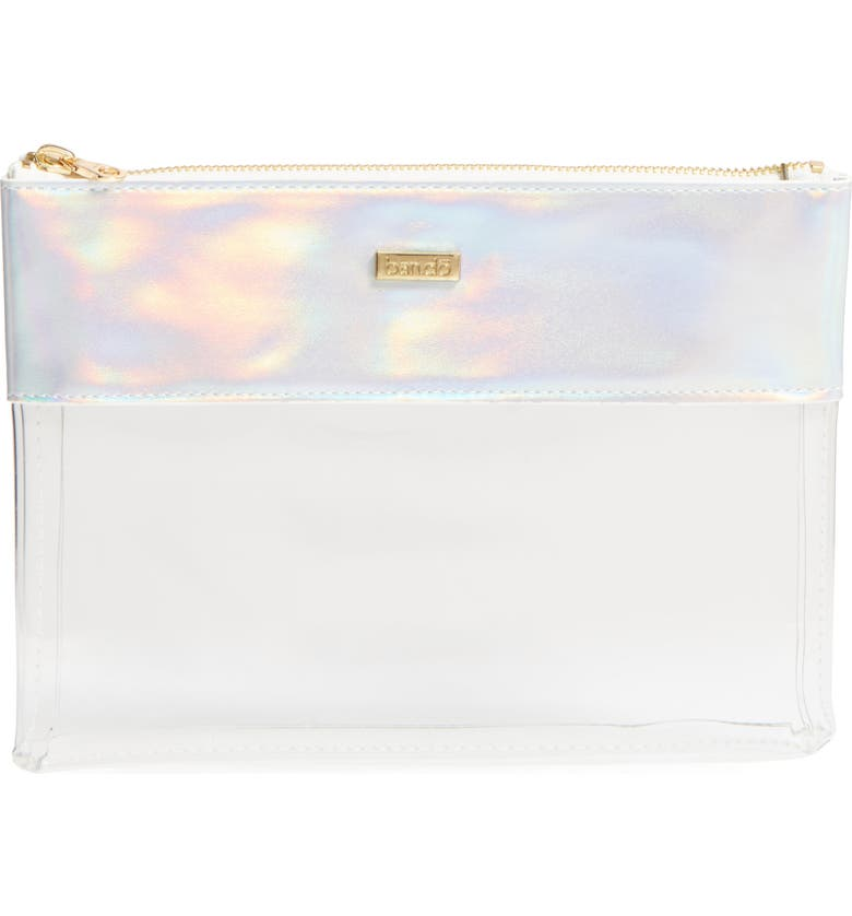 BAN.DO Peek a Boo Clutch, Main, color, HOLOGRAPHIC
