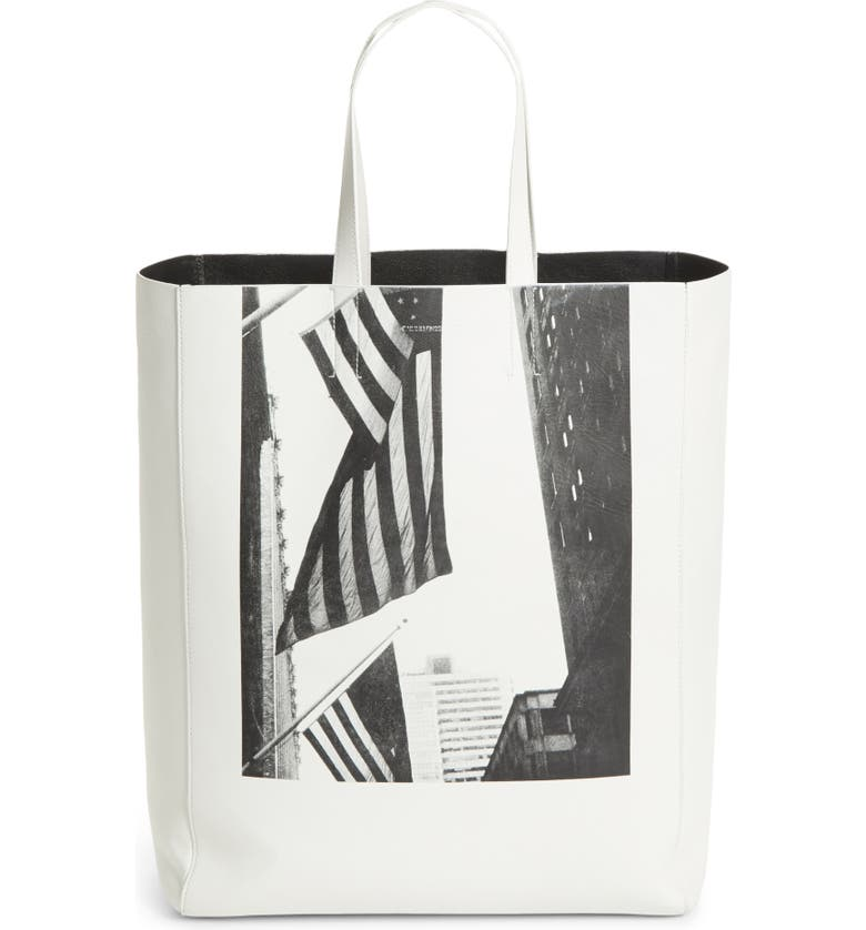 CALVIN KLEIN 205W39NYC x Andy Warhol Foundation American Flag, Main, color, 100