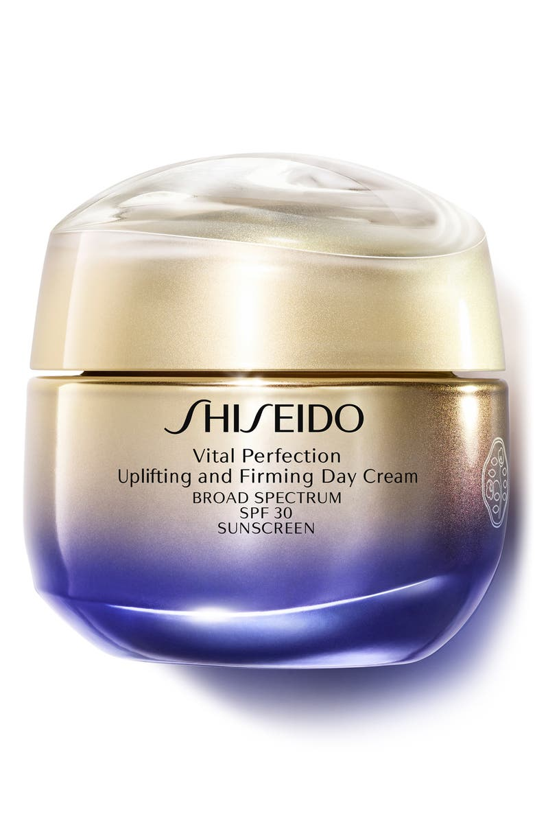 SHISEIDO Vital Perfection Uplifting and Firming Day Cream SPF 30, Main, color, NO COLOR