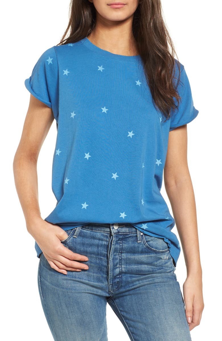 WILDFOX Fireworks Tee, Main, color, 120