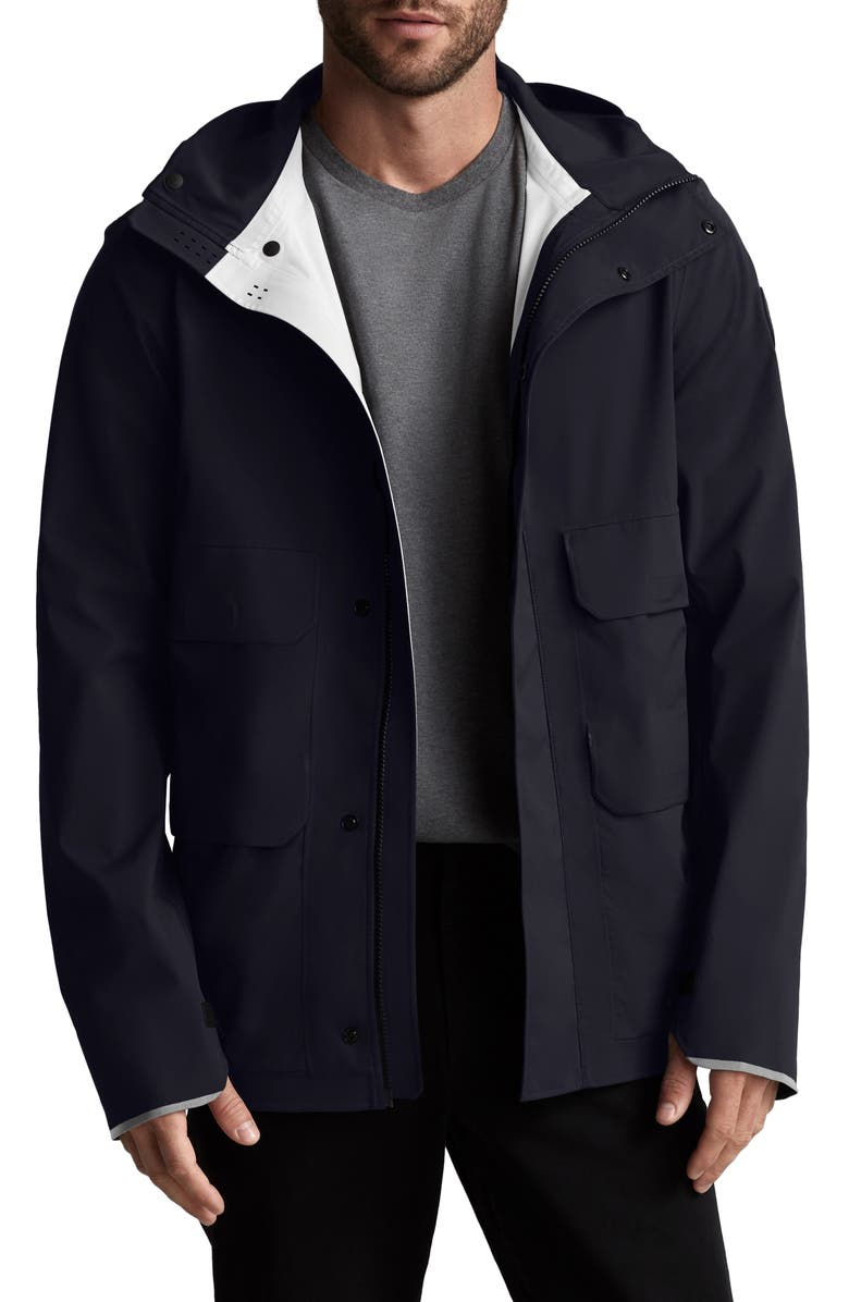 CANADA GOOSE Meaford Waterproof Jacket, Main, color, RIVERBED