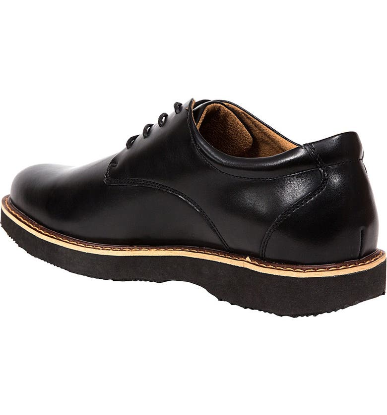 DEER STAGS Walkmaster Plain Toe Oxford - Wide Width Available, Main, color, BLACK