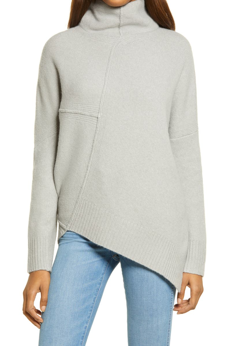 ALLSAINTS Lock Roll Neck Wool Blend Sweater, Main, color, 304