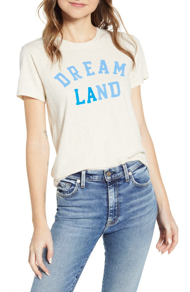 LUCKY BRAND Dream Land Graphic Tee, Main, color, 261