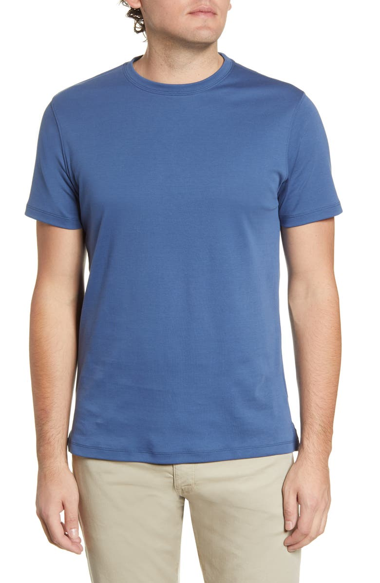ROBERT BARAKETT Georgia Crewneck T-Shirt, Main, color, POSEIDON