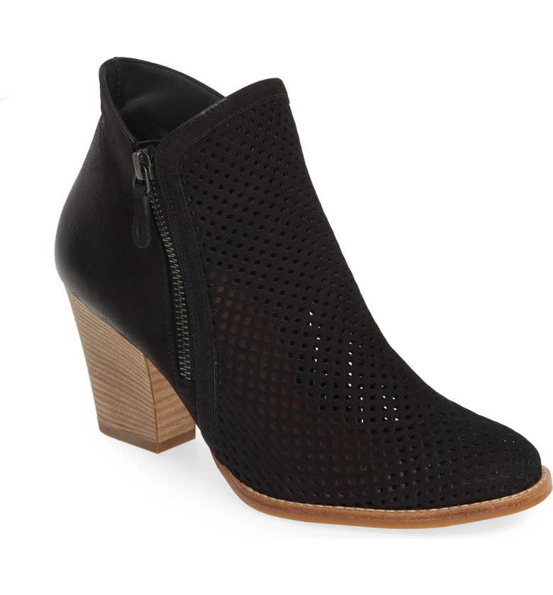 PAUL GREEN Bonzai Perforated Bootie, Main, color, 001
