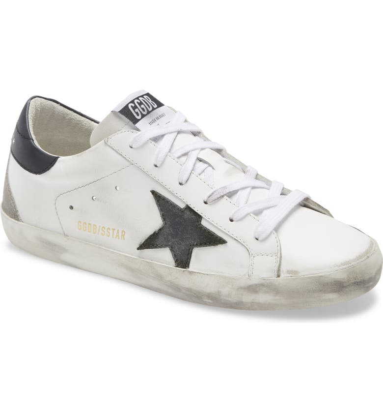 GOLDEN GOOSE Super-Star Low Top Sneaker, Main, color, WHITE/ ARMY GREEN/ BLACK/ ICE