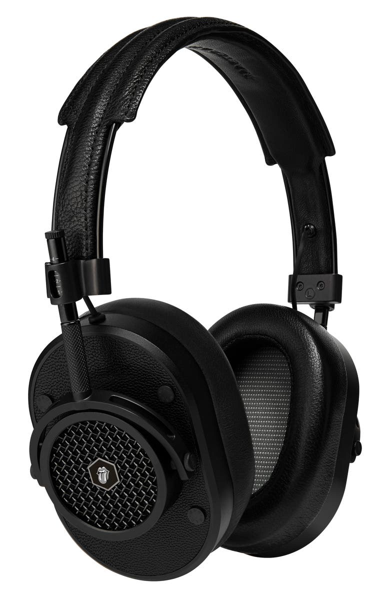 MASTER & DYNAMIC MH40 Leather Over Ear Headphones, Main, color, 002