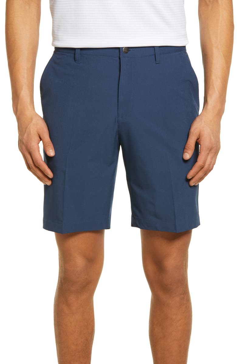 ADIDAS GOLF Men's Ultimate365 Water Resistant Performance Shorts, Main, color, CREW NAVY