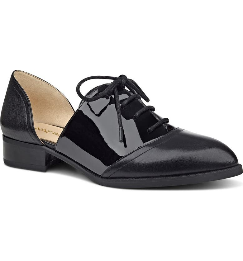 NINE WEST 'Nevie' d'Orsay Oxford, Main, color, 001