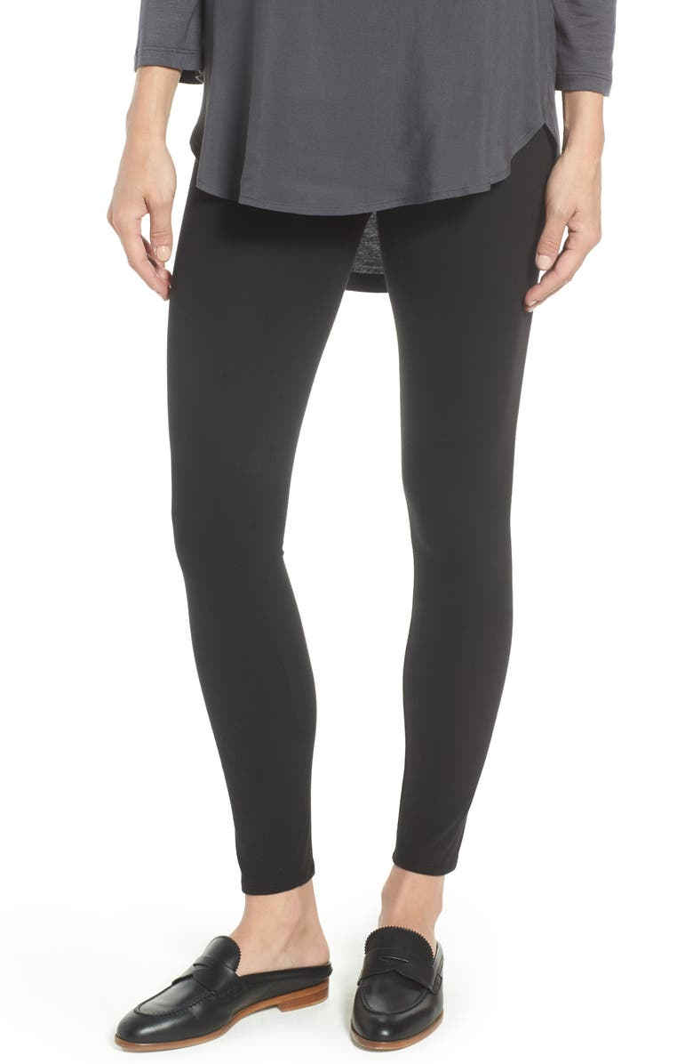 NORDSTROM Go-To High Waist Leggings, Main, color, 001