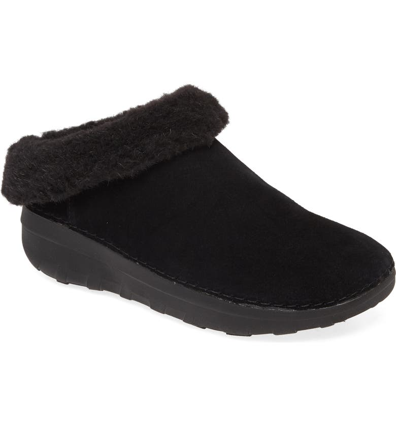 FITFLOP Loaff Snug Slipper, Main, color, 001