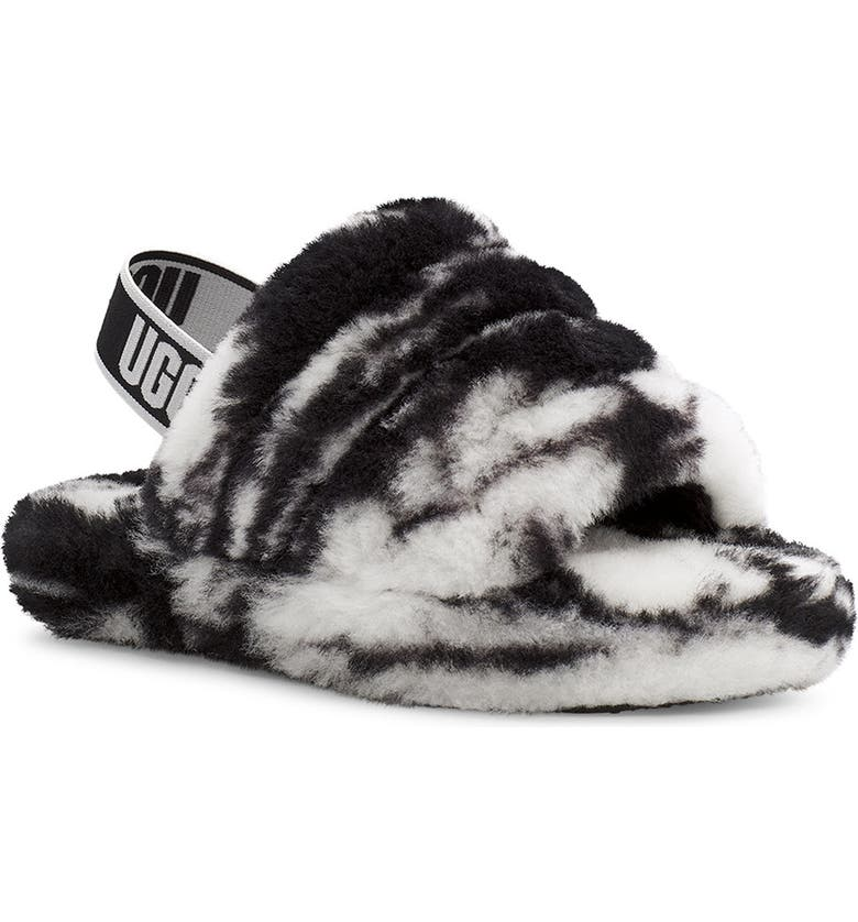 UGG<SUP>®</SUP> Fluff Yeah Slide, Main, color, 004