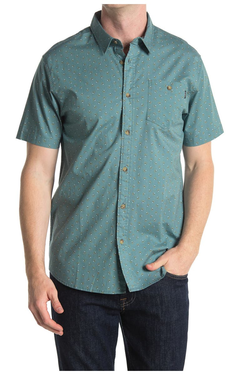 ONEILL Tame Printed Regular Fit Shirt, Main, color, LINCOLN