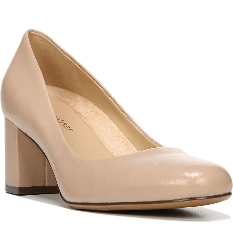 NATURALIZER Whitney Pump, Main, color, TENDER TAUPE LEATHER