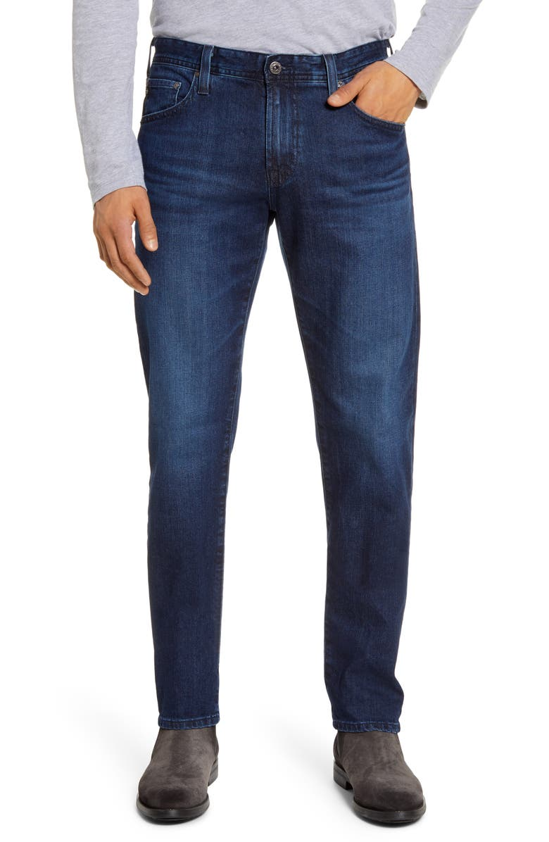 AG Tellis Slim Fit Jeans, Main, color, JAMESTOWN